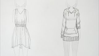 How to Draw Manga: Clothing Folds (request)