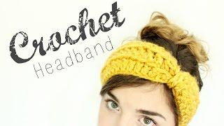 Download Crochet Bow Headband // Crochet Tutorial // Veronica Marie 3Gp Mp4