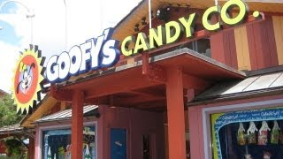 Goofy's Candy Company Store at Downtown Disney Walt Disney World HD