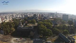 熊本城|空撮動画