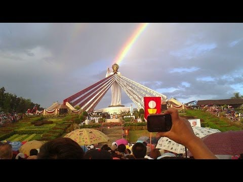 Dancing Sun Miracle Divine Mercy Hills Philippines