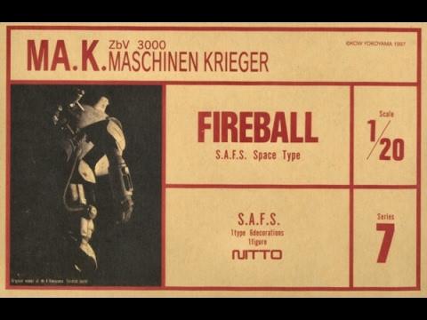 Ma.k. Maschinen Krieger Nitto 1/20 FIREBALL Build Part 1