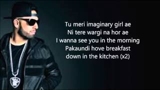 IMRAN KHAN - IMAGINARY (LYRICS)