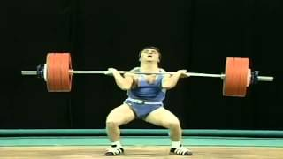 Naim Suleymanoglu - 1996 Atlanta World Record