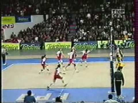 PERÚ VS BRASIL VOLEY MASTER 2001