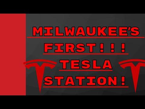 Xxx Mp4 Milwaukee Wisconsins New Tesla Supercharger Oak Creek WI Drexel Towne Square 3gp Sex