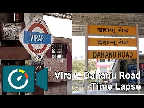 Xxx Mp4 Virar To Dahanu Road Full Journey In 3 Minutes 1 Sec Time Lapse East View November 39 16 3gp Sex