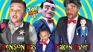 SUPER WEIRD Toy Story 4 BENSON has TAKEN OVER!