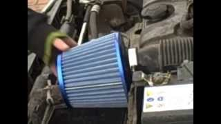 How to fit an Air filter ( Peugeot 206)