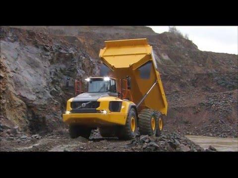 Volvo A60H dumper - förarens val