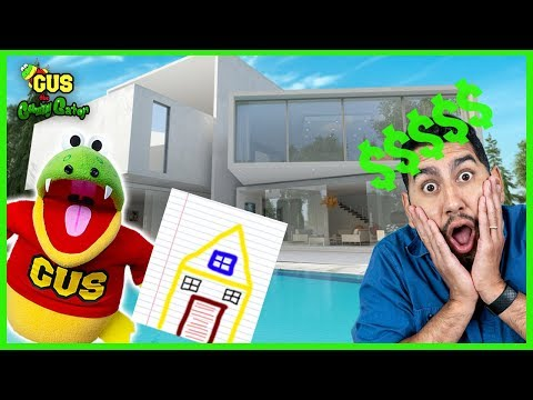 You Draw I Buy Challenge Pretend Play Buying a House