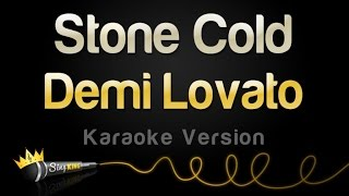 Demi Lovato - Stone Cold (Karaoke Version)