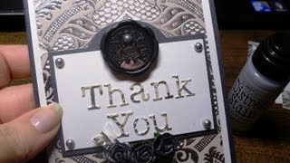 Thank You Card - Upcycling Packaging