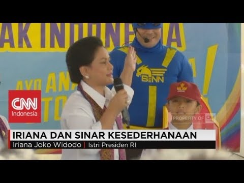 Xxx Mp4 Mencuri Perhatian Ibu Negara Iriana Jokowi Sinar Kesederhanaan 3gp Sex