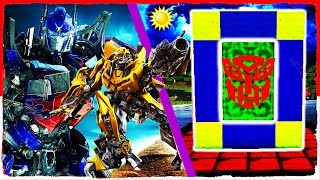Minecraft Transformers - How to Make a Portal to TRANSFORMER