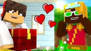 Minecraft Épico #51 - A MALENA AMOU O PRESENTE QUE DEI PRA ELA !!!