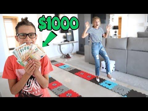 GIANT BOARD GAME CHALLENGE Winner gets 1000