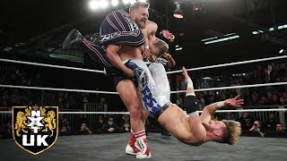 Moustache Mountain's match against Webster & Andrews leaves Brooklyn in awe: NXT UK, April 24, 2019
