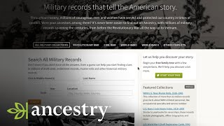 Looking For Military Records? Start Here | Ancestry Academy