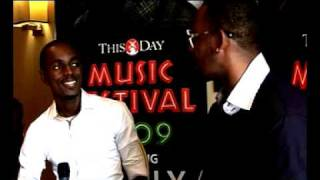 EWEEKLY EDIT: R KELLY IN NIGERIA FOR THE THISDAY MUSIC FESTIVAL 2009. part 2
