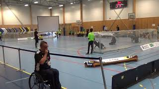 2018 Goalball World Championships Brazil v Germany 2nd Half