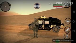 معسكر الجيش العراقي في لعبه حرامي السيارات GTA-SA
