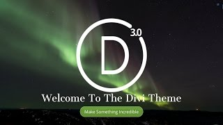 How To Make A Wordpress Website 2017 | NEW Divi Theme 3.0 Tutorial - AMAZING!