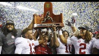 Alabama vs. Florida SEC CHAMPIONSHIP Highlights 2016 (HD)