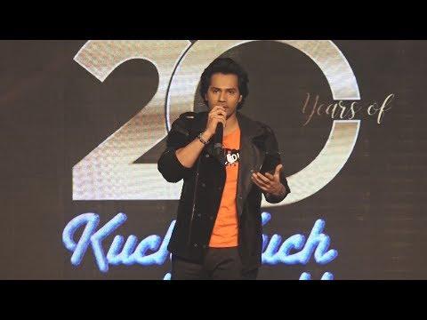 Xxx Mp4 20 Years Of Kuch Kuch Hota Hai Celebration पर VARUN DHAWAN Shahrukh Kajol Rani 3gp Sex