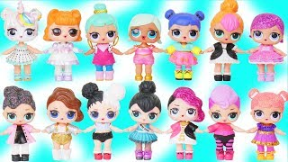 Custom Unicorns LOL Surprise Doll Plays Dress Up with Lil Sisters in FAKE Mania My Little Pony