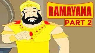 Ramayana For Kids In Hindi | Part 2 | Mythological Stories | Ramayana Story | Masti Ki Paathshaala