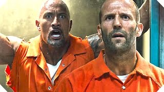 "FAST AND FURIOUS 8 - ""Dwayne Johnson VS Jason Statham en PRISON !"" - Extrait VF (2017)"