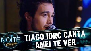 The Noite (01/04/16) Tiago Iorc canta 'Amei te Ver'
