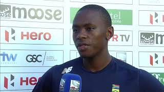 Hero Cup | Sri Lanka vs SA | Kagiso Rabada interview
