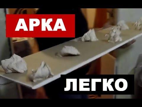 Как сделать арку своими руками из гипсокартона пошаговая инструкция видео
