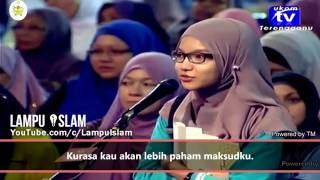 Malaysian Student wins Dr. zakir naik to pay her university fee
