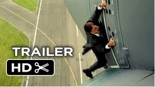 Mission  Impossible Rogue Nation Official Trailer #1 2015   Tom Cruise, Simon Pegg Spy Movie HD 2015