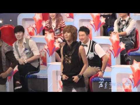 100823 Taemin dance to Lucifer Ɠß recording fancam