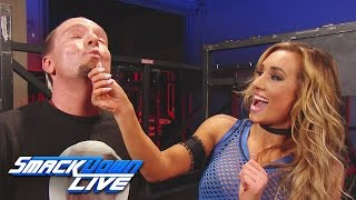 Carmella decides to take James Ellsworth on a shopping spree: SmackDown LIVE, Jan. 10, 2017