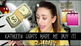 KATHLEEN LIGHTS Made Me Buy It! | jxmebeauty