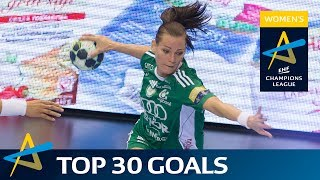 Top 30 goals of the 2016/17 Women