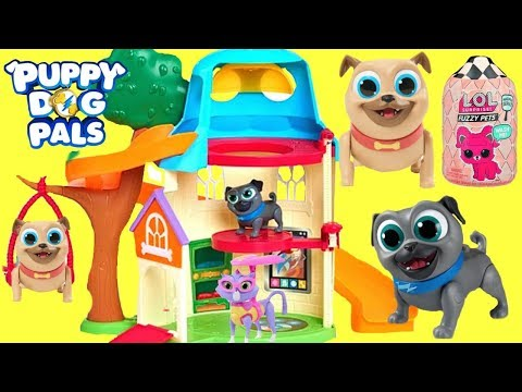 Xxx Mp4 Puppy Dog Pals Move Into A New House And Find LOL Surprise Treasure 3gp Sex