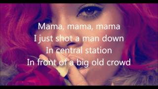 Rihanna- Man down lyrics