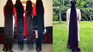 Long Hair Chinese (Asian Women) Long long hair women - Super long hair cut