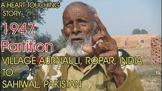 Refugee Camp-The Hunger Cage || Pind Aurnauli,   Rupnagar, Punjab || 1947 Partition Story