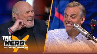 Terry Bradshaw on the Patriots' playoff dominance, Mahomes vs Luck & Dak's value | NFL | THE HERD