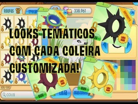 LOOKS TEMÁTICOS COM CADA COLEIRA CUSTOMIZADA ANIMAL JAM