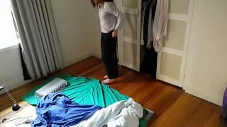 Minimalist Bed Routine