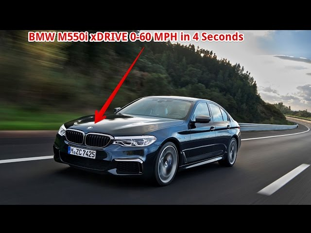 WOW!!! 2018 BMW M550i xDrive to Hit 60 MPH in Under 4.0 Seconds