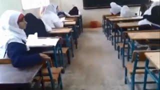فضائح المدارس - غش جماعي فى مدرسة اعدادي بنات بمحافظة قنا